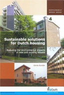 Sustainable Solutions for Dutch Housing Book