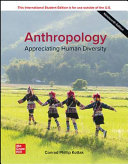 ISE Anthropology: Appreciating Human Diversity