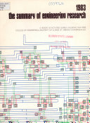 The Summary Of Engineering Research Book PDF