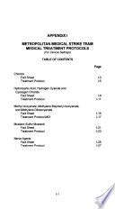 The Metropolitan Medical Response System's Field Operations Guide (FOG) for the Metropolitan Medical Strike Team (MMST).