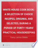 White House Cook Book Pdf/ePub eBook