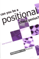 Can You be a Positional Chess Genius