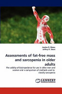 Assessments of Fat Free Mass and Sarcopenia in Older Adults Book