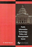 Public Information Technology Pdf/ePub eBook