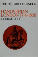 Hanoverian London  1714 1808