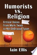 Humorists vs  Religion Book
