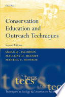 Conservation Education And Outreach Techniques Book