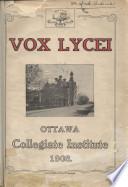 Vox Lycei 1907-1908