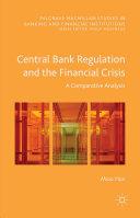 Central Bank Regulation and the Financial Crisis Pdf/ePub eBook