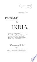 Leaves Of Grass Passage To India