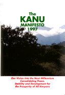 The KANU Manifesto  1997