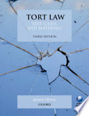 """""""Tort Law: Text, Cases, and Materials"""" by Jenny Steele"""