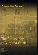 The Philosophy of Virginia Woolf