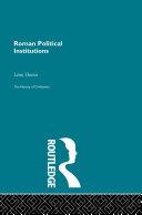 Roman Political Institutions