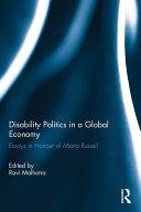 Disability Politics in a Global Economy Pdf/ePub eBook