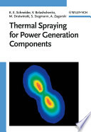 Thermal Spraying for Power Generation Components