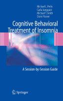 Pdf Cognitive Behavioral Treatment of Insomnia