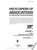 Encyclopedia of associations  : an associations unlimited reference , Band 3