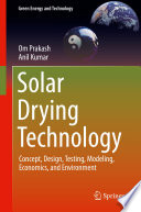 Solar Drying Technology Book