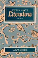 Indian K  vya Literature  The art of storytelling