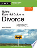 Nolo s Essential Guide to Divorce