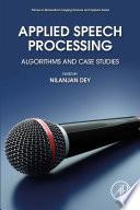 Applied Speech Processing Book