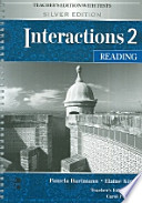 Interactions 2 Reading Teachers Edition with Tests(Silver Edition)