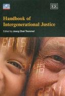 Handbook of Intergenerational Justice