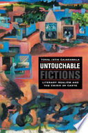 Untouchable Fictions  Literary Realism and the Crisis of Caste