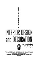 Opportunities in interior design and decoration