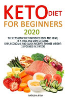 Keto Diet for Beginners 2020 Book