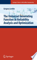 The Universal Generating Function in Reliability Analysis and Optimization Book