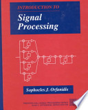 Supplement: Introduction to Signal Processing & Computer Based Exercise Signal Processing Using MATLAB Version 5 Pkg. - Introducti