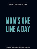 Mom s One Line a Day