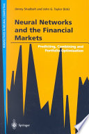 Neural Networks and the Financial Markets Book