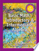 Basic Math  Introductory and Intermediate Algebra