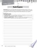 Tuck Everlasting Reader Response Writing Prompts