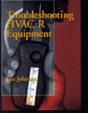 Troubleshooting Hvac R Equipment