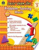 Daily Warm Ups  Problem Solving Math Grade 3 Book