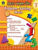 Daily Warm Ups  Problem Solving Math Grade 3