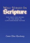 Well Versed in Scripture Book PDF