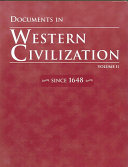 Documents in Western Civilization