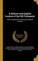 HEBREW & ENGLISH LEXICON OF TH