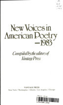 New Voices in American Poetry    1983