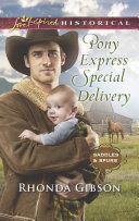 Pony Express Special Delivery  Mills   Boon Love Inspired Historical   Saddles and Spurs  Book 5