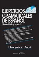 Ejercicios gramaticales de español