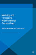 Modelling and Forecasting High Frequency Financial Data Pdf/ePub eBook