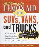 Lemon aid Suvs  Vans  and Trucks