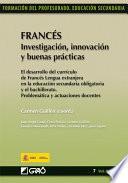 Francés. Investigación, innovación y buenas prácticas