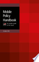 Gsma Mobile Policy Handbook